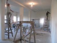 bouw grote groepsruimte